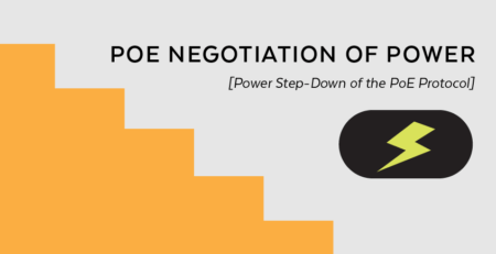 PoE Negotiation of Power [Power Step-Down of the PoE Protocol]