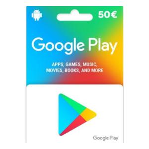 P - 50 Euros Google Play Store