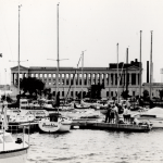 Featured Photo: Architecture, Part 2 – Vintage Architecture – Soldier's Field with Burnham Harbor in...