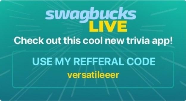 Join Swagbucks LIVE – Trivia Game Show