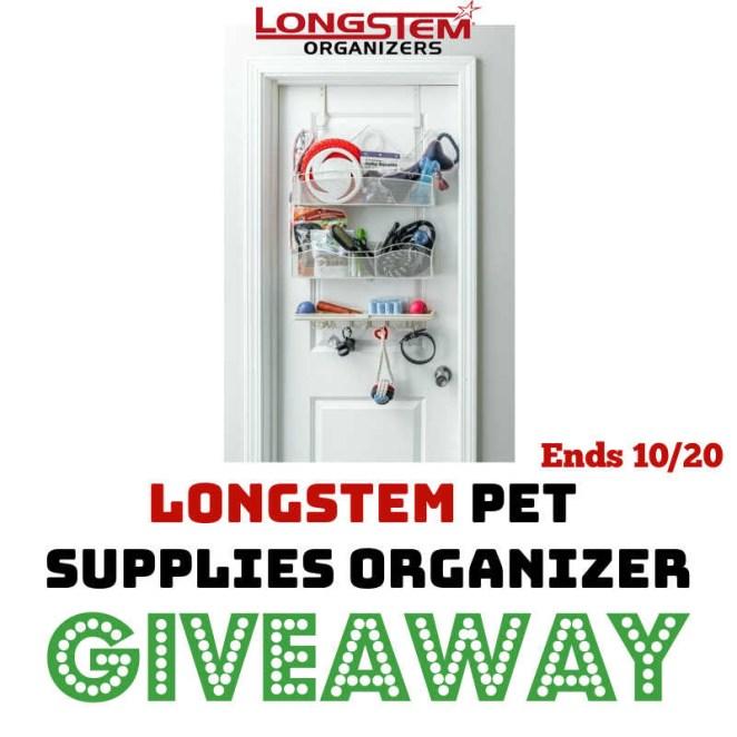 Longstem Pet Supplies Organizer Giveaway.jpg