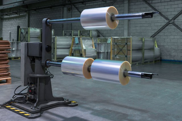 Film Roll Slitting Roll Recovery