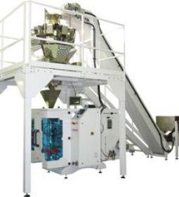 Vertical weigh fill seal machine