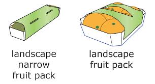 Fruit Linerless Label Format