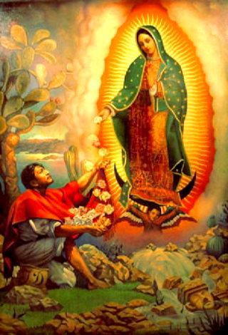 Notre-dame De Guadalupe : notre-dame, guadalupe, L'image, Miraculeuse, Notre-dame, Guadalupe, Demain