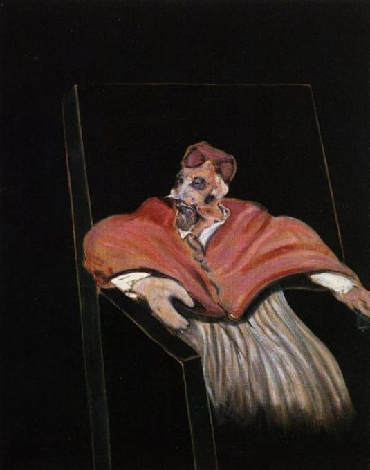 Francis Bacon - Study for a Pope III (1)