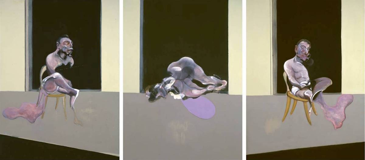 Triptych - August 1972 1972 Francis Bacon 1909-1992 Purchased 1980 http://www.tate.org.uk/art/work/T03073