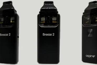 Aspire Breeze 2 Header Image