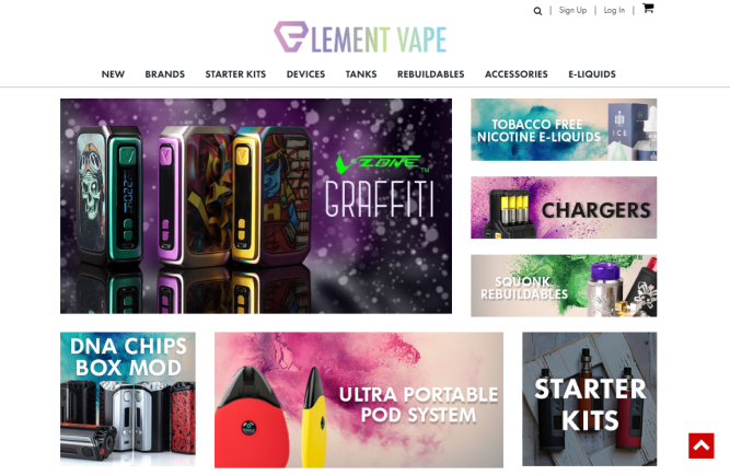 Element Vape Online Vape Store