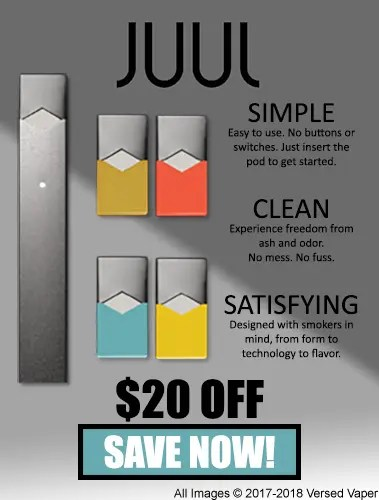 picture relating to Juul Printable Coupon referred to as JUUL Coupon Code - Conserve $20 upon a Refreshing JUUL Novice Package!