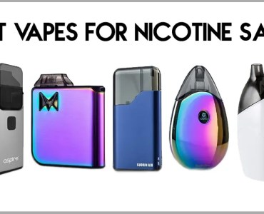 Best Vapes For Nicotine Salts Banner