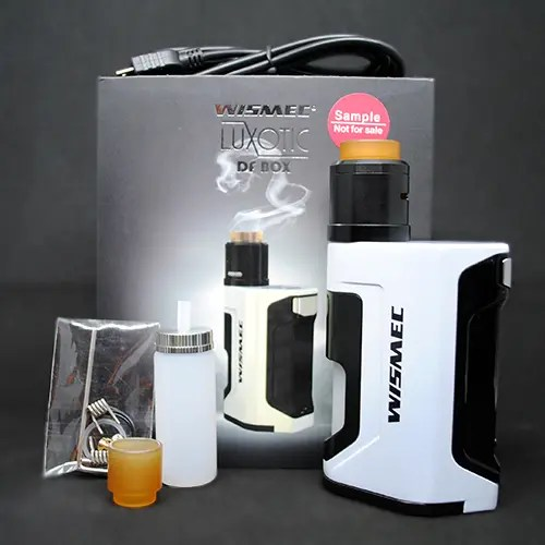 Wismec Luxotic DF Kit Review — a Dual 18650 Battery, 200W Squonker