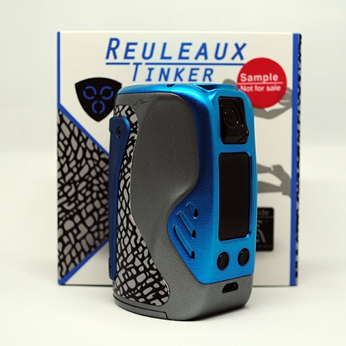 Wismec Reuleaux Tinker Kit Review Triple 18650 Mod, Fires Up To 300W