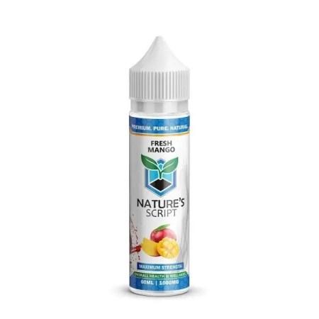 Nature's Script CBD Vape Juice
