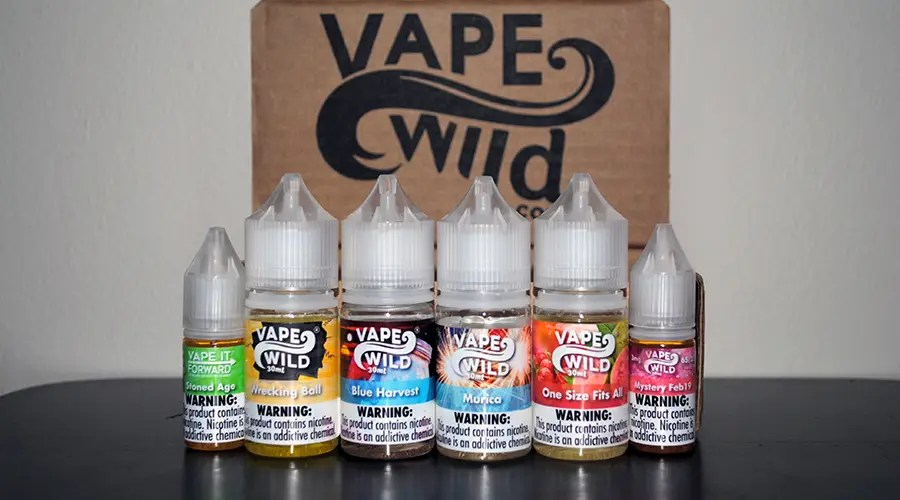 Vape Wild Ejuice Review Final