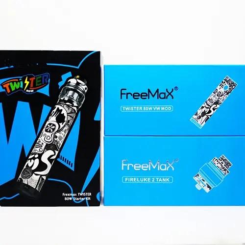 Freemax Twister Kit Box Contents