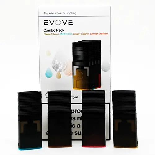 Evove Pod Flavors