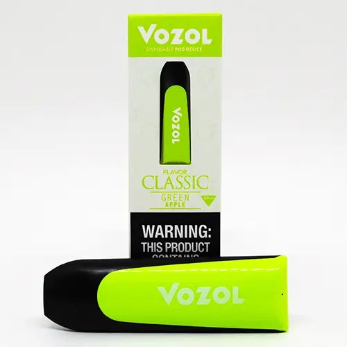 Vozol Disposable Green Apple