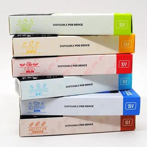 Vozol D1 Box Contents