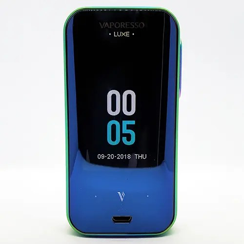 Vaporesso Luxe Clock Screen