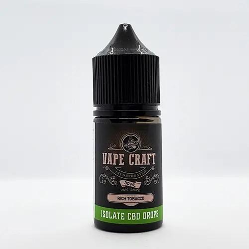 Vape Craft CBD Rich Tobacco