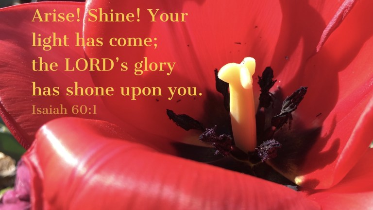 Verse Image for Isaiah 60:1 - 16x9