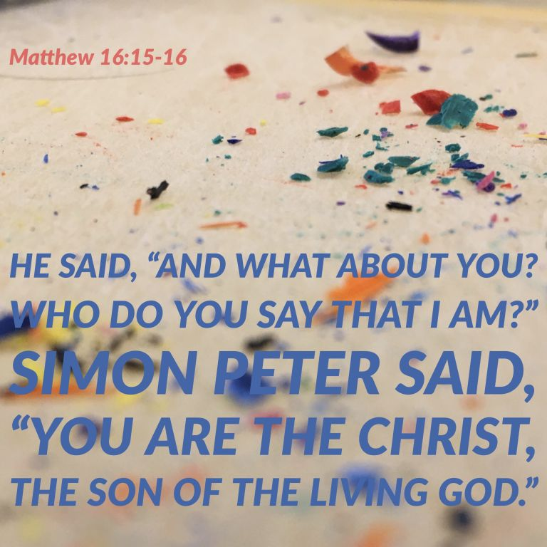 Verse Image for Matthew 16:15-16 - 1x1