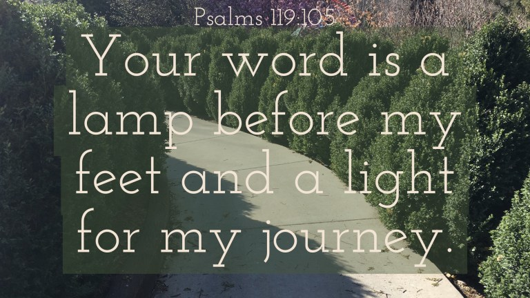 Verse Image for Psalms 119:105 - 16x9