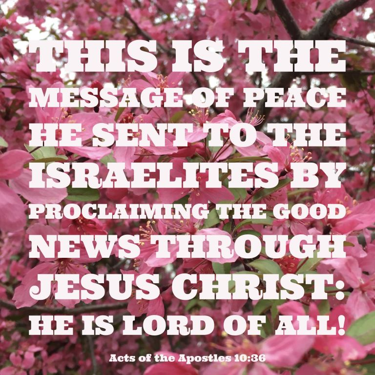 Verse Image for Acts of the Apostles 10:36 - 1x1