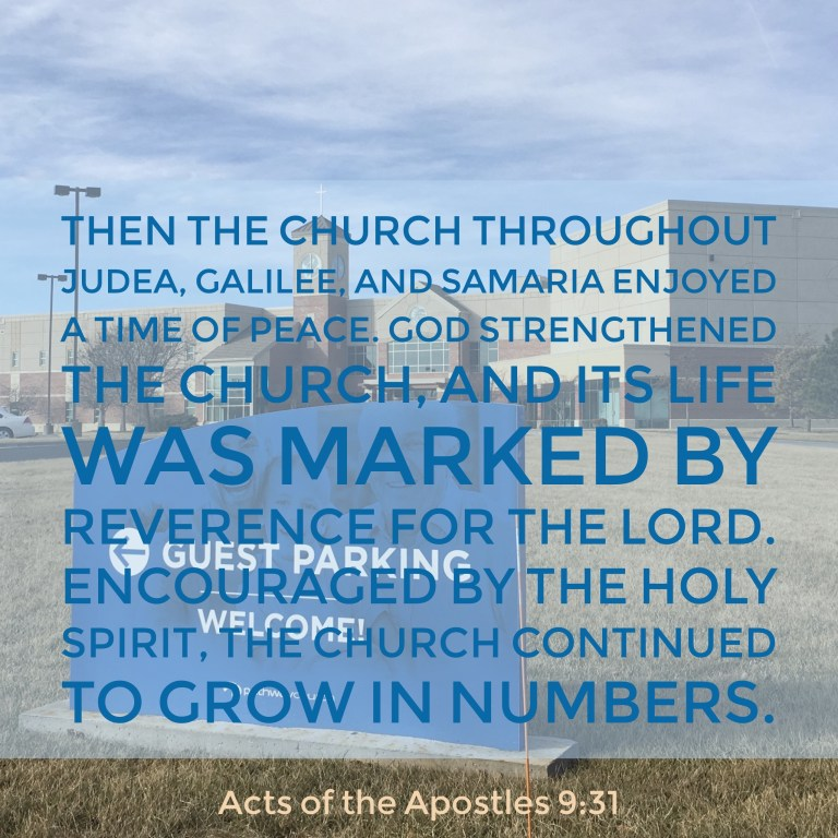 Verse Image for Acts of the Apostles 9:31 - 1x1