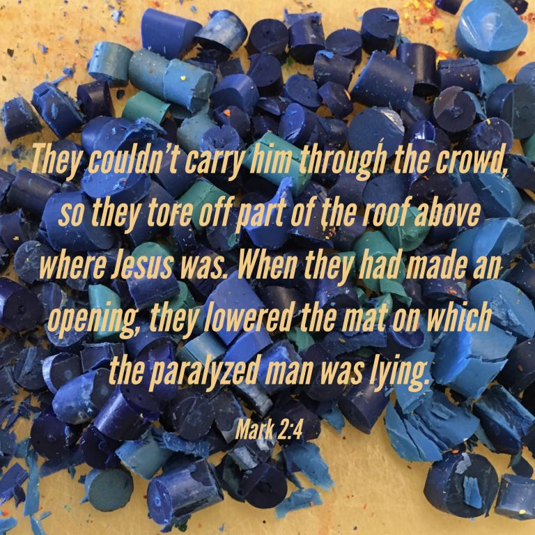 Verse Image for Mark 2:4 - 1x1