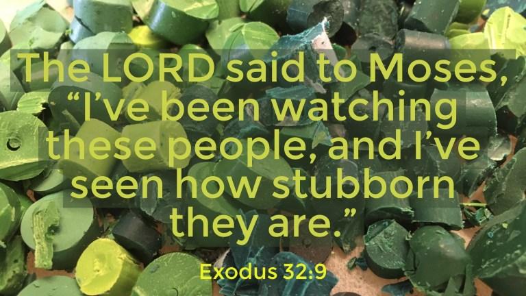 Verse Image for Exodus 32:9 - 16x9