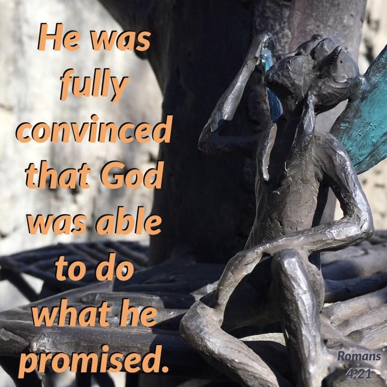 Verse Image for Romans 4:21 - 1x1