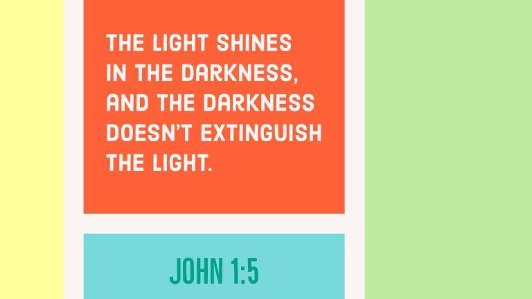 Verse Image for John 1:5 - 16x9