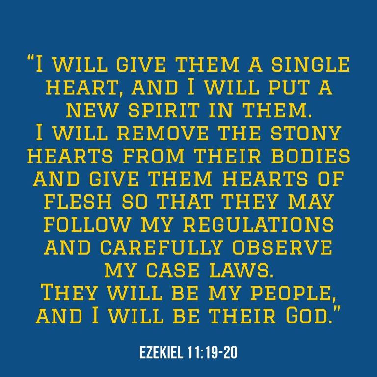 Verse Image for Ezekiel 11:19-20 - 1x1
