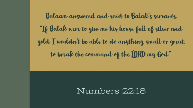 Verse Image for Numbers 22:18 - 16x9