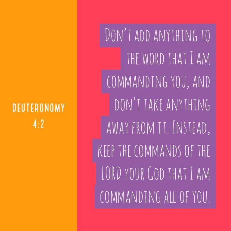 Verse Image for Deuteronomy 4:2 - 1x1
