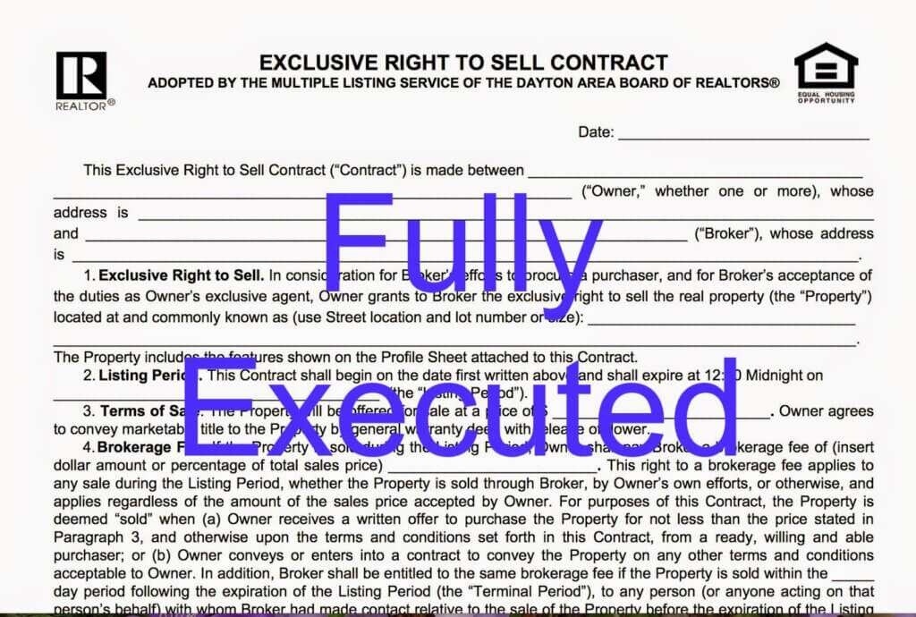 A fully executed contract verses from mama recently while attending a real estate continuing education course i listened to a lecture on contracts in our business we deal with contracts all the platinumwayz