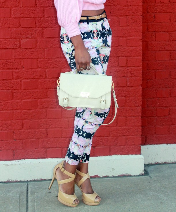 Floral trousers + cut out sweater (10)