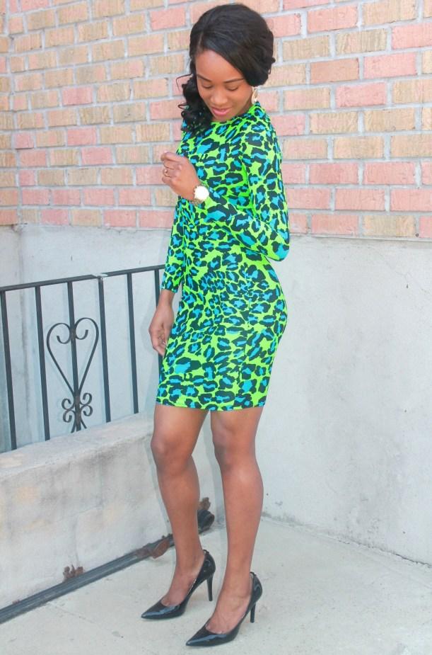 Green & blue leopard dress (8)