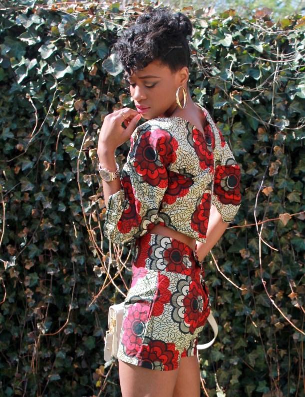 African print short suit (10)