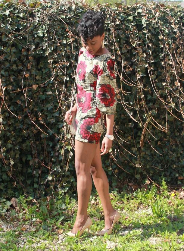 African print short suit (4)