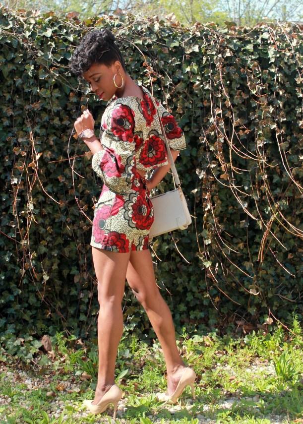 African print short suit (6)
