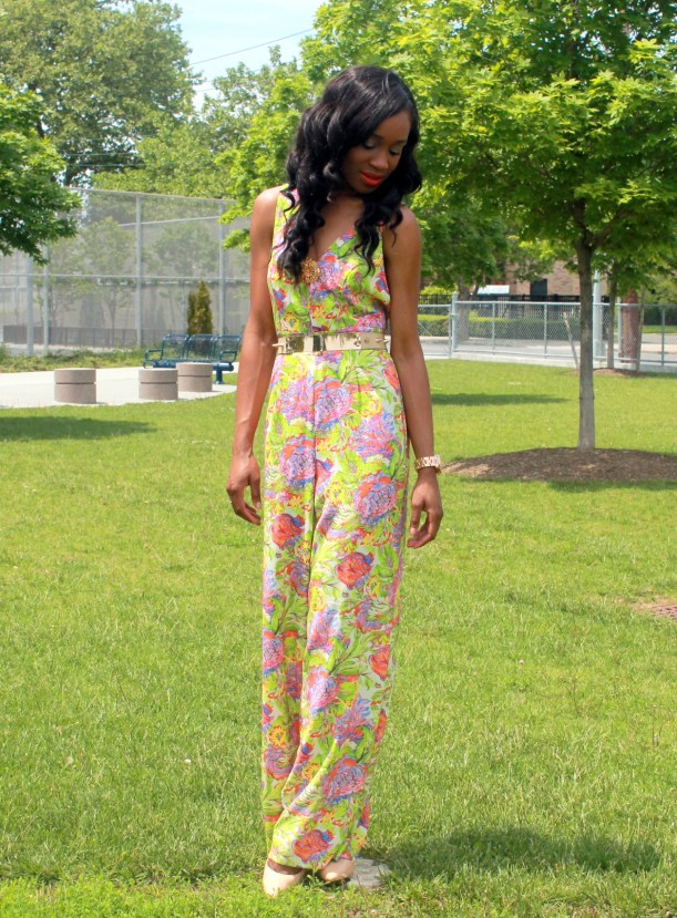 Floral jumpsuit + fitted blazer (9)