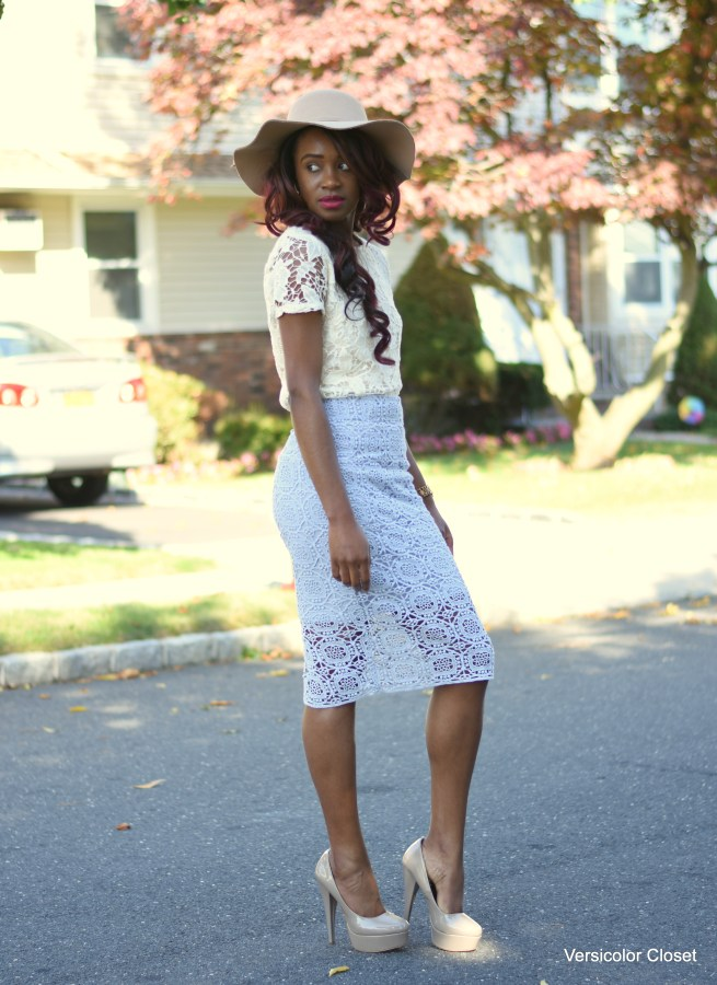 Lace skirt & lace top (10)