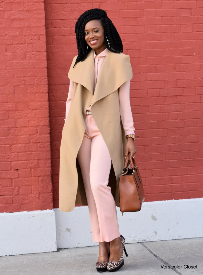 Blush trousers & top (10)