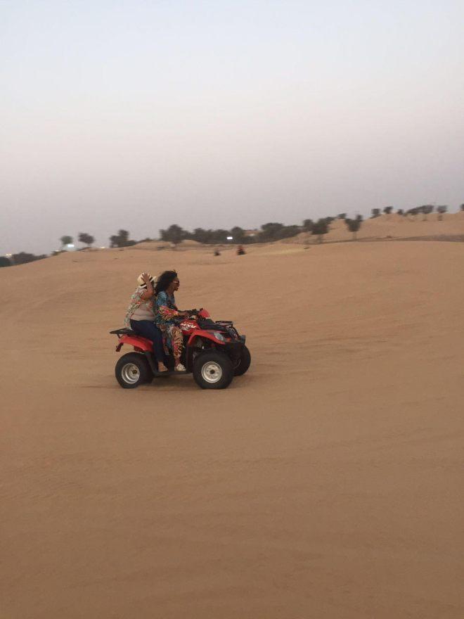 ATV - dubai desert