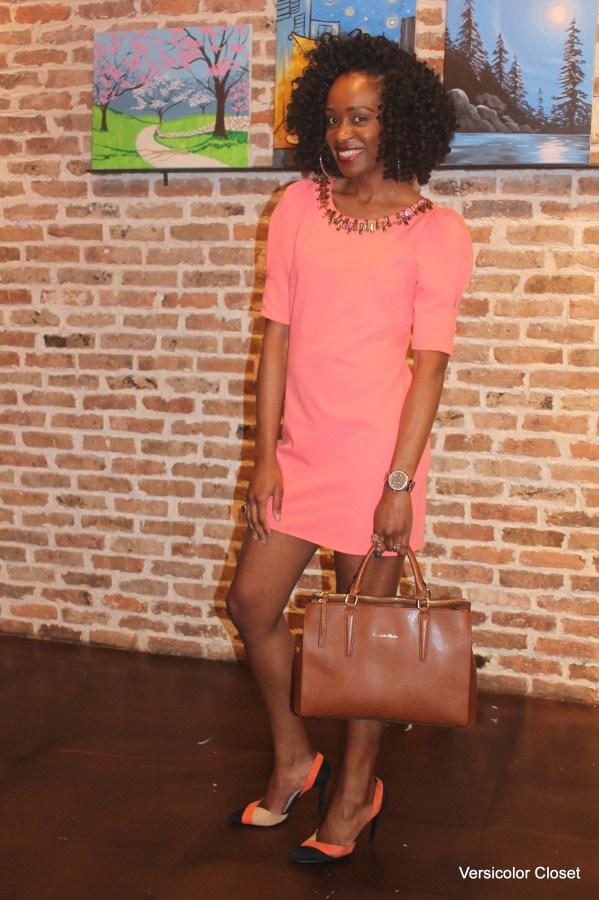 Embellished shift dress (4)