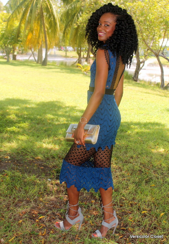 Lace dress + lace up heels (5)