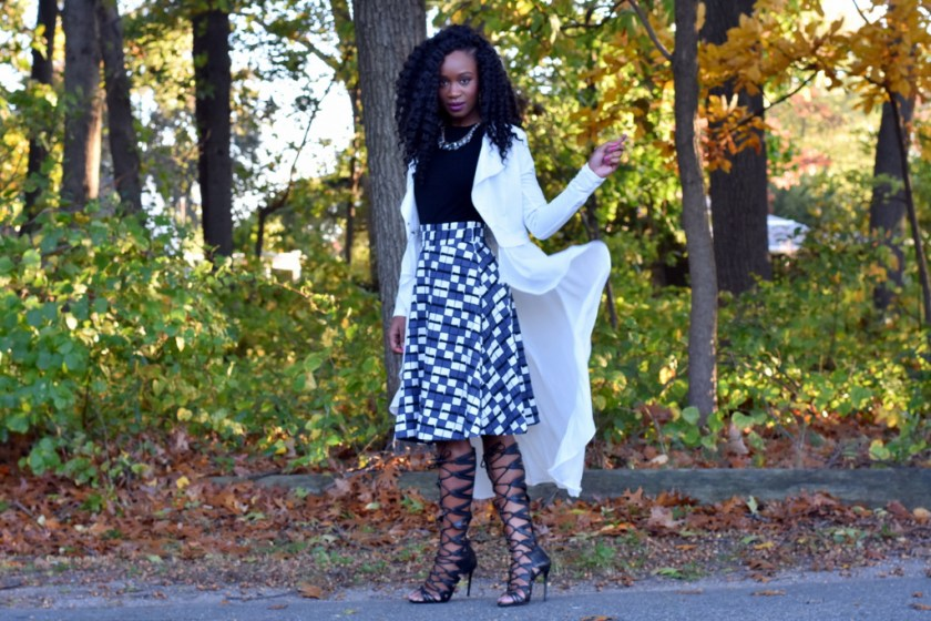 styling-a-skater-skirt-with-a-flowy-blazer-2